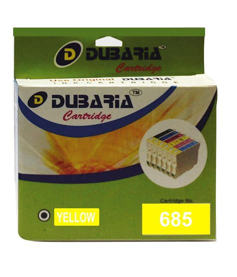 Hp Ink 685 Yellow dubaria 685 yellow ink cartridge for hp 685 cz123aa buy dubaria 685 yellow ink cartridge for