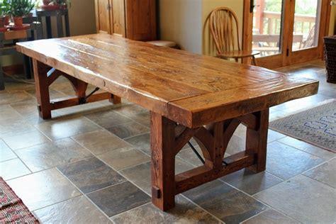 Pine Farmhouse Dining Table Made Reclaimed Pine Farmhouse Dining Table By Fiddleback Custommade