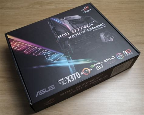 Asus Rog Strix X370f Gaming asus strix x370 f motherboard review play3r