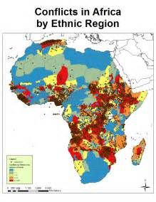 Ethnic Map Of Africa by How Africa Would Look Like If Its Borders Were Defined By