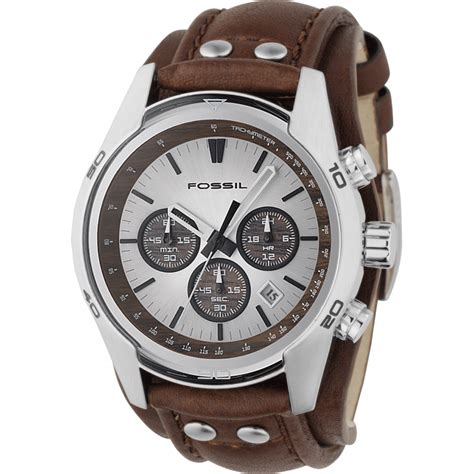 fossil trend chronograph cuff ch2565 shade station