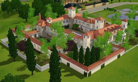 Huge Luxury Homes sims 3 spanish villa by ramborocky on deviantart