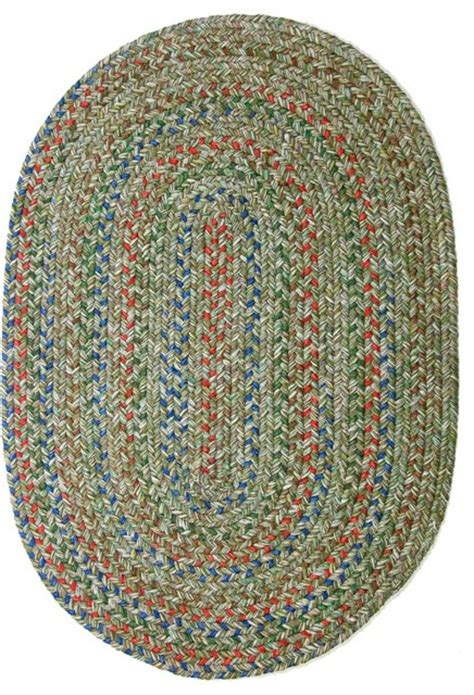 2 X3 Oval Small 2x3 Rug Moss Green Textured Braided Small Braided Rugs
