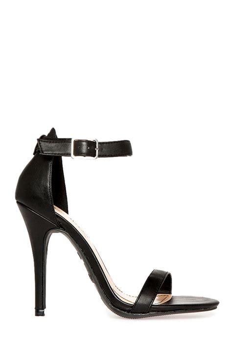 Black Simple Heels 5cm dailylook dailylook simple heels in black 5 5 10