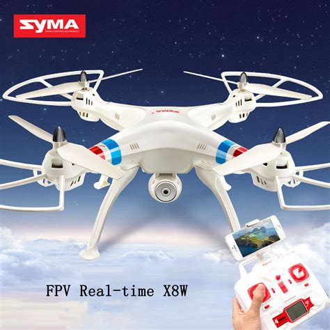 Syma X8w Explorers Drone Wifi Fpv Rc Quadcopter 4ch 6 Axis 2mp white syma x8w explorers drone wifi fpv rc quadcopter 4ch