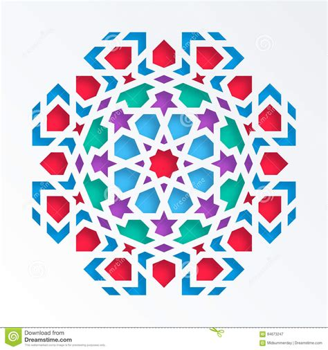 islamic pattern vector eps islamic geometric pattern vector 3d muslim mosaic