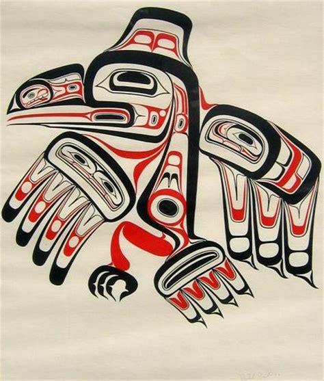 haida native american bird tattoo bill reid renowned haida artist bill reid ravens and bird