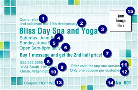 bliss spa coupon 1 ticketprinting