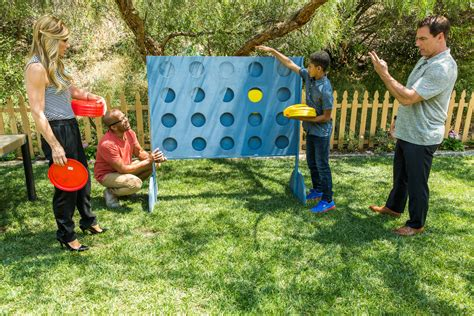 backyard connect four diy giant backyard connect four home family video
