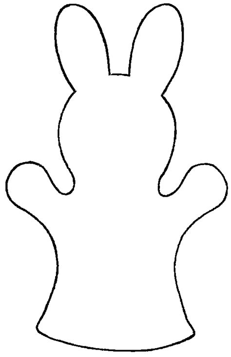Home Decorating Magazine by Easter Bunny Puppet Pattern Free Template Print And Use