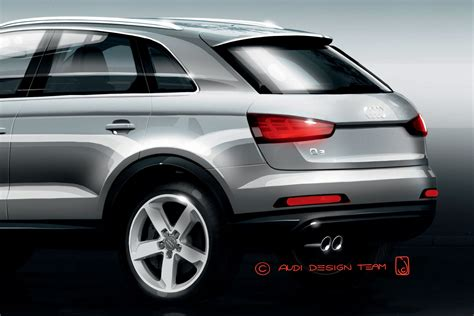 Audi Plätz by New Audi Q3 Baby Suv Official Teasers Revealed