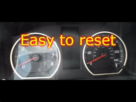 wrench light on honda civic how to reset on a honda crv
