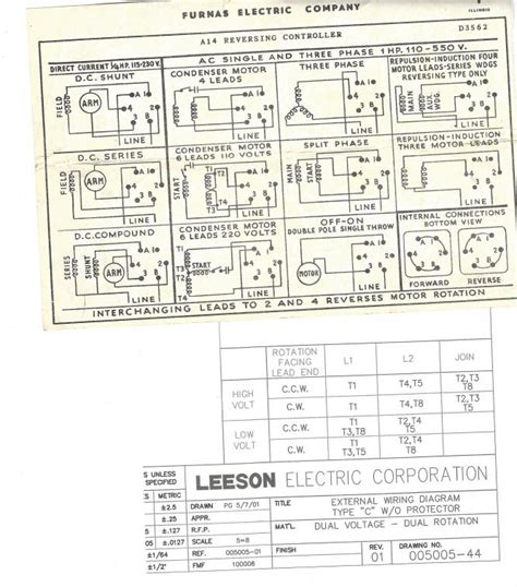 leeson boat lift motor wiring diagram leeson free engine
