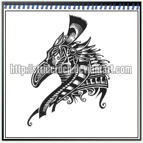 tattoo design 050 seth by striderden on deviantart