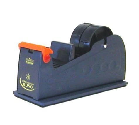 bench tape dispenser 50mm packing tape desktop bench dispenser with free roll of 50mm x 66m tape ebay