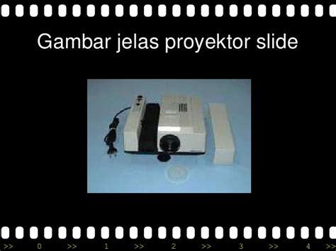 Proyektor Slide Audio Visual Karakteristik