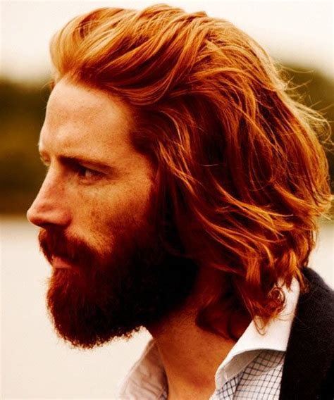 ginger mens hairstyles 21 best images about long hair on pinterest jared leto