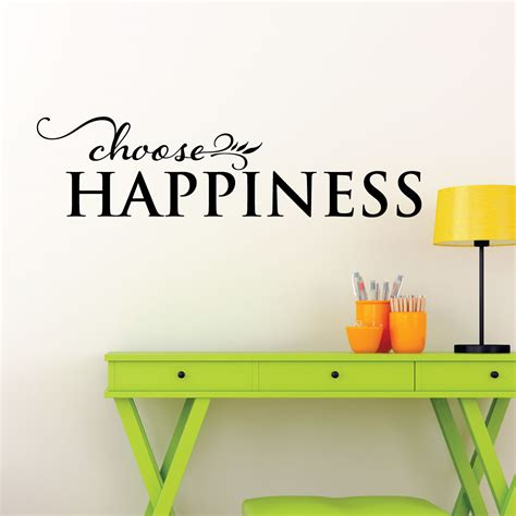 Dinosaurs Wall Stickers choose happiness wall quotes decal wallquotes com