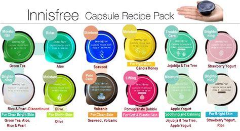 my innisfree capsule recipe pack amanda torquise