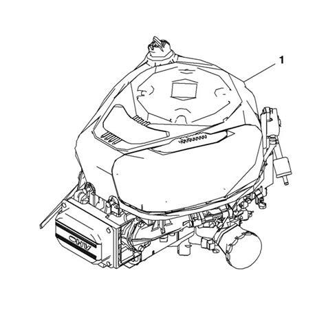 deere d110 parts diagram deere complete gasoline engine mia12621