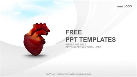 human heart medical ppt templates