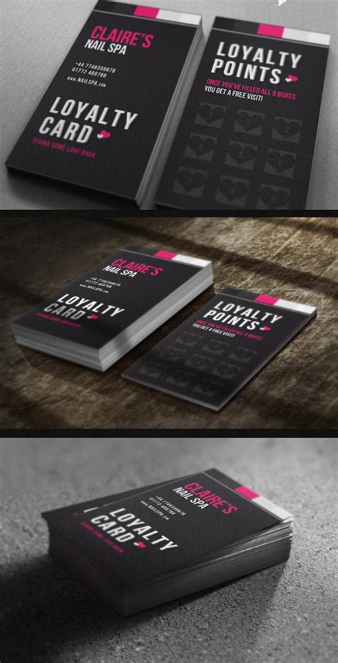 loyalty card template psd free top 10 photoshop psd loyalty card templates