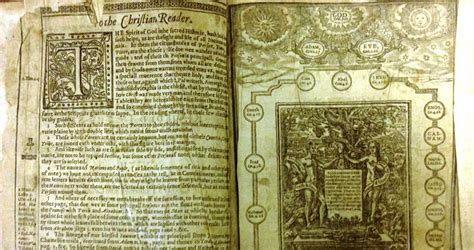 tattoo in the bible kjv oldest draft of king james bible found