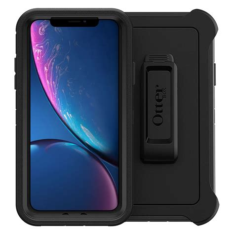 otterbox defender for apple iphone xr black