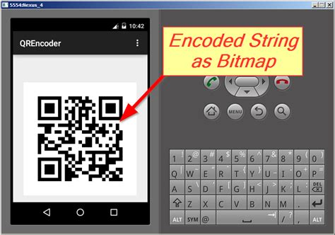 android zxing layout qr encode a string to image in android project using zxing