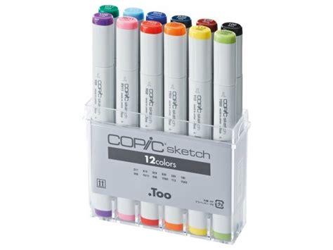 Sale Copic Sketch Plastic For 12 Pcs buy copic sketch sets set of 12 at modulor