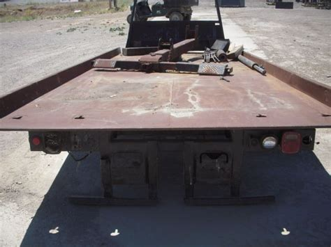 tow truck bed jerr dan 19 slide back tow truck bed