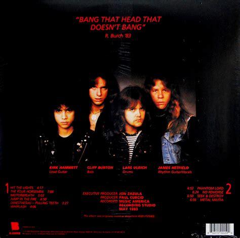 metallica kill em all kill em all heartland recordsheartland records