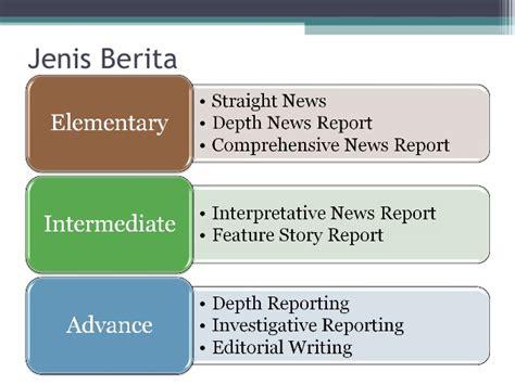 Pengantar Teori Komunikasi 1 West Ori Ed 5 klasifikasi jenis dan nilai berita