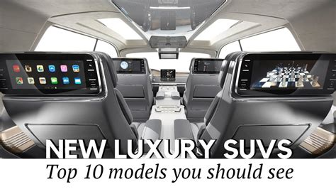 luxury jeep interior top 10 luxury suv coming in 2017 2018 car interiors