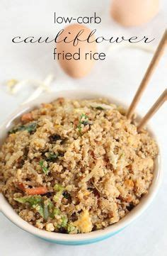 low carb dish cauliflower fried rice on fried rice recipes