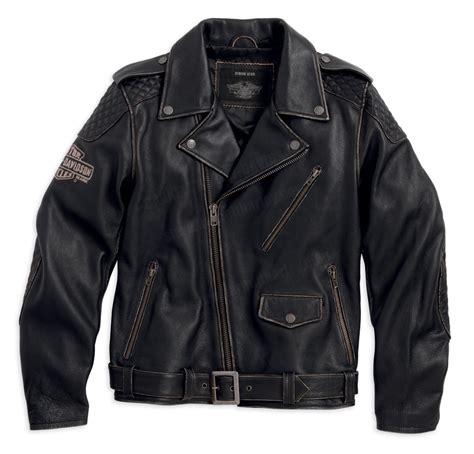 biker jacket 98063 13vm harley davidson 174 mens vintage biker black