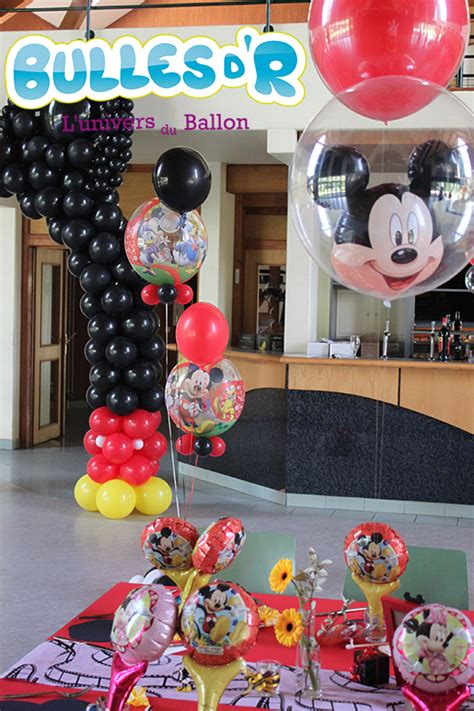 Decoration Mickey Pour Bapteme by Deco Bapteme Mickey