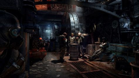 metro last light console mind the tunnels metro last light goes gold for consoles