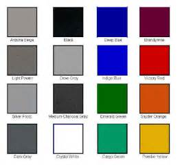 color choices enclosed trailer color choices from our