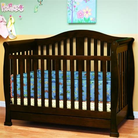 Convertible Baby Cribs With Drawers Ikea Baby Cribs Convertible Baby Crib With Drawer In Espresso Finish From Afg