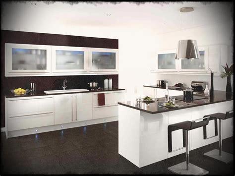 home modular kitchen designs black and white design ideas