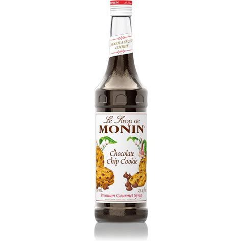 Monin Syrup Chocolate Cookie 700 Ml Cafe Coffee Original Syrup monin chocolate chip cookie syrup 750 ml bottle s baristaproshop