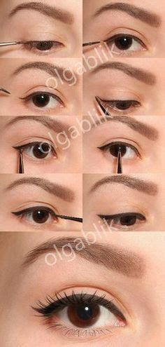 eyeliner tutorial thin subtle winged eyeliner beauty pinterest eyeliner