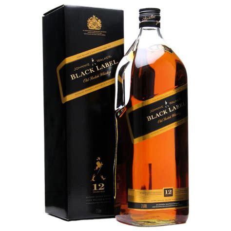 Johnie Walker Black Label johnnie walker black label 1 75l armanettis beverage mart