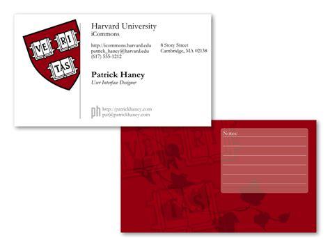 Harvard Business Card Template harvard business card mockup by splat on deviantart