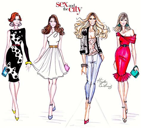fashion illustration and design and the city by hayden williams and the city b flickr
