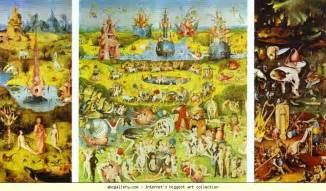 Garden Of Earthly Delights by Hieronymus Bosch Garden Of Earthly Delights