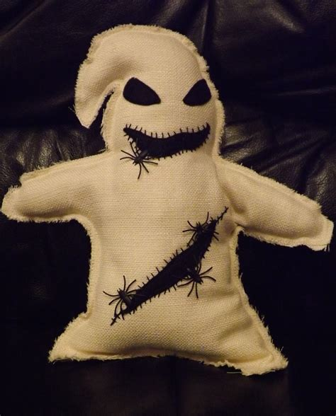 oogie boogie   plushie sewing  cut