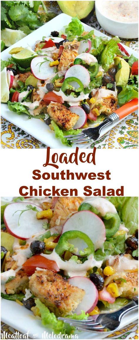 Fast Easy Dinner Black Bean Cobb Salad by 25 Best Ideas About Southwest Chicken Salads On