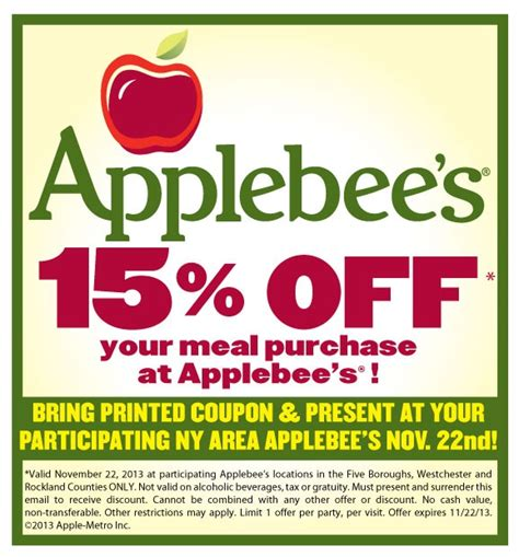 Applebees Gift Card Promotion 2017 - applebees coupons mega deals and coupons